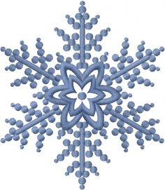Seasons(ATG Freedesigns) Embroidery Design: Snowflake from Anns Club