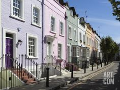 pastel terrace houses - Google Search