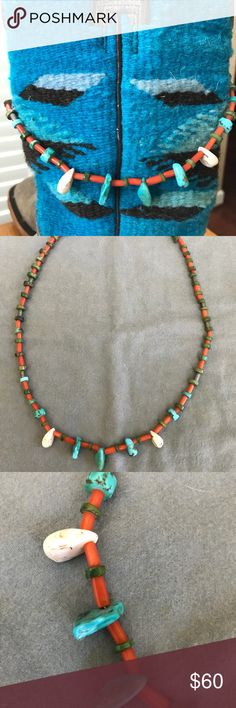 95ae1e7f0f8 ... Karen Walker Accessories Glasses. See more. Native American Indian  coral  amp  turquoise necklace Native American Indian coral and turquoise  necklace.