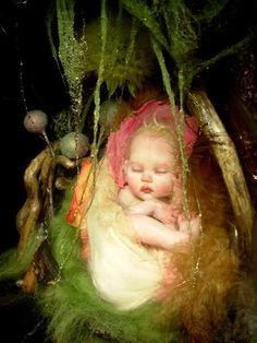 newborn faerie  by B.B. Flocking ॐ