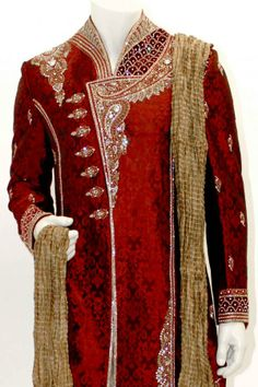 Sherwani Gold | Buy Sherwani, Wedding Shervani, Latest Sherwani, Traditional Men's ...