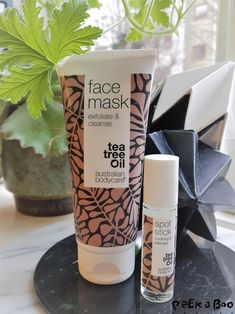 facemask from Australian bodycare...do your own spa weekend with these natureal products.