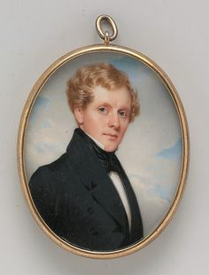 """Portrait of a Gentleman"" by Thomas Seir Cummings (1835) at the Metropolitan Museum of Art, New York"
