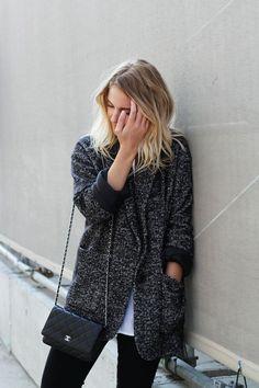 jacket. #streetstyle #bijoux