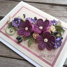#quillingcreations #quillingcard #quillingcraft #quillingflowers #paperart #handmadecards #квиллинготкрытка #квиллингцветы