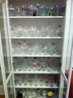 Oak Pint Beer Glass Display Shelf Details - Display Shack ...