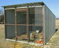 Chicken Barn, Easy Chicken Coop, Portable Chicken Coop, Chicken Coop Designs, Backyard Chicken Coop Plans, Building A Chicken Coop, Chickens Backyard, Keeping Chickens, Raising Chickens