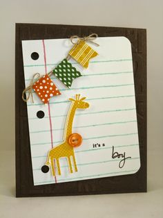 Did You Stamp Today?: Baby Boy - Stampin' Up!