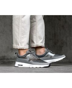 buy online 874d9 922b6 Nike Air Max Thea Knit Dust Metallic Pewter Black White Trainers Sale Rose  Gold Trainers,
