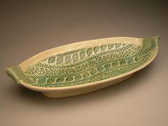 Oval Platter by sandiandneil