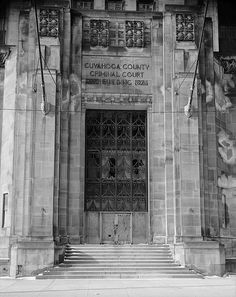 Art Deco Cleveland Criminal Building