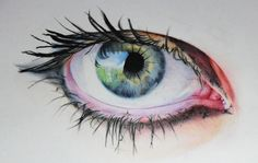 coloored pencil1 Eye1