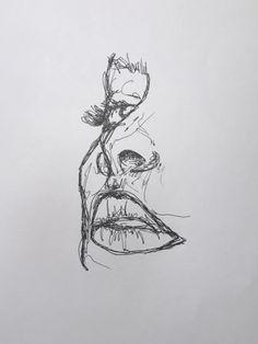 You do things… Sketchbook Drawings, Pencil Art Drawings, Drawing Sketches, Kunst Inspo, Art Inspo, Art Hoe, Aesthetic Art, Cute Art, Illustrator