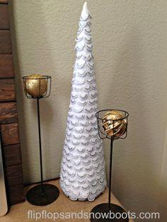 Felt Christmas Tree - West Elm Knockoff - Dream Design DIY