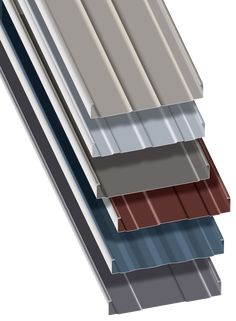 New T-Armor Series structural standing seam roof system from Metal Sales achieve.New T-Armor Series structural standing seam roof system from Metal Sales achieves a new pinnacle in long-term performance, installation ease and design flexibility. Modern Farmhouse Exterior, Farmhouse Plans, Metal Roof Panels, Standing Seam Roof, Steel Building Homes, Metal Roof Colors, Exterior Cladding, Exterior Paint, Roof Detail