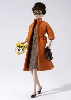 Breakfast at Tiffany's ; I want this, mix of two things I love. Barbie and Audrey Hepburn Fashion Royalty Dolls, Fashion Dolls, Audrey Hepburn Movies, Tiffany Dresses, Holly Golightly, New York Girls, Wool Overcoat, My Fair Lady, Breakfast At Tiffanys