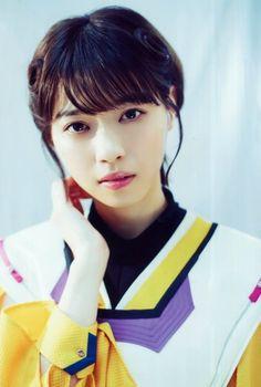 Pretty Asian Girl, Beautiful Asian Girls, Beautiful Women, Japanese Beauty, Asian Beauty, Oriental, Kamen Rider Zi O, Blue Back, Tv Guide