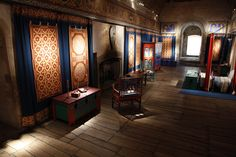 The King's Chamber at Dover Castle, England.  Photo by Sean White.