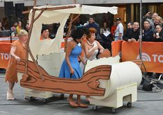 Kathie Lee Gifford in  Today  Hosts Dress Up for Halloween. Flintstone  CharactersBetty RubbleWilma ... 7cc83e21c8be