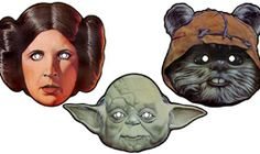 StarWars.com | Star Wars Classic Masks Group 2