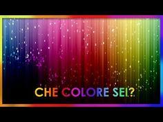 Il significato dei colori | colori e personalità | cromoterapia | usi nel Mondo - YouTube