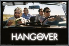 The Hangover  Framed Movie Poster  Print The Guys In Car Size 36 x 24 >>> You can get additional details at the image link.Note:It is affiliate link to Amazon.