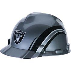 Oakland Raiders Hard Hat - NFL Licensed Construction Safety