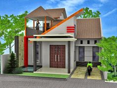 5 Desain Rumah Minimalis 2 Lantai Ukuran 6x9 Terbaru 2018