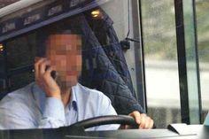 Guida al cellulare, altre 63 contravvenzioni. Gli autisti Tep ancora nel mirino, ma ora tocca anche alla Provincia