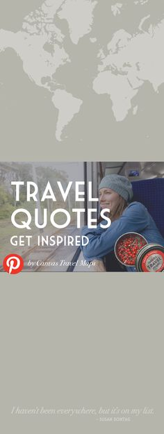 Get inspired for your next adventure with these fun travel quotes Fun Travel, Travel Maps, Travel Quotes, Inspirational Quotes, Adventure, Inspired, Canvas, Life Coach Quotes, Tela