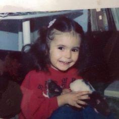 Nina Dobrev as little girl so cute☀️