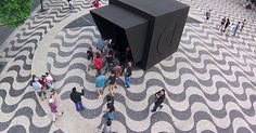 People Were Invited To Enter This Huge Black Box. What Happened After Is So Awesome!
