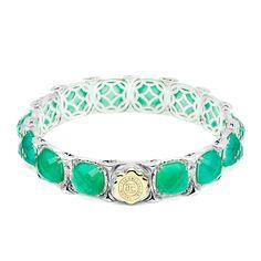 Glowing Green Onyx | Style SB11627 #Gemstone #Bracelet
