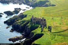 New Slains Castle, Scotland