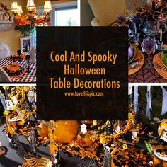 Amazing diy indoor halloween decorations indoor halloween cool and spooky halloween table decorations diy halloween do it yourself crafty table decorations halloween crafts solutioingenieria Images