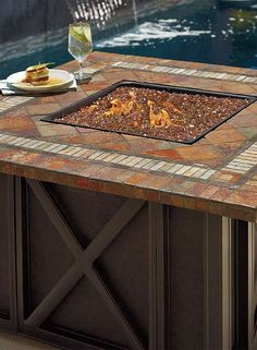 Gather around the Springfield Fire Pit with your guests to enjoy great company and conversation even during chilly fall nights.