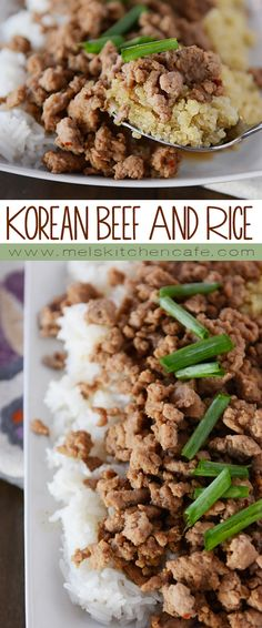This simple, delicious meal of flavorful Korean beef (you can use ground turkey, too!) is tasty and comes together in 20 minutes!