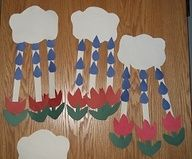 April Showers / May Flowers Craft