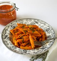 Roasted Tomato Arrabbiata Sauce Vegan Vegetarian