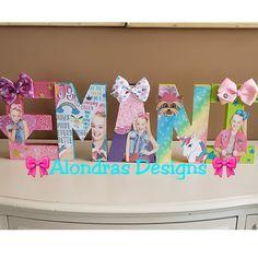 Visit us to order! Girls Birthday Party Themes, 6th Birthday Parties, 8th Birthday, Birthday Party Decorations, Birthday Ideas, Jojo Siwa Birthday Cake, Kylie Birthday, Birthday Letters, Party Gifts