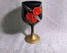 Biscuit, Vase, Home Decor, Pigeon, Emerald, Bottles, Manualidades, Red Black, Decoration Home