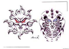 cool Biomech #tattoo #art