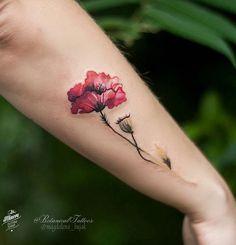 "427 Likes, 28 Comments - Botanical Tattoos (@botanicaltattoos) on Instagram: ""#botanicaltattoo #flowertattoo #floraltattoo #naturetattoo #watercolourtattoo…"""