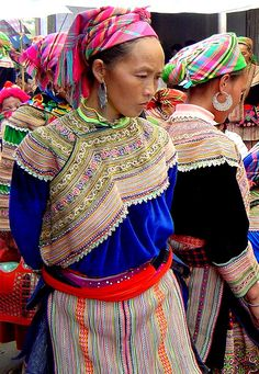 Bac Ha Woman at the Market by Phil-osophical Bird, via Flickr