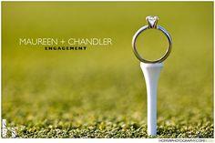 Creative RING shots - Project Wedding Forums golf tee wedding ring ...