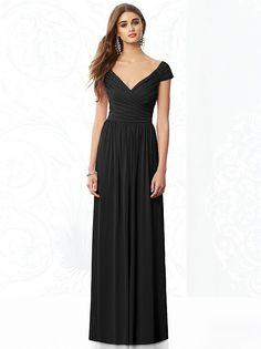 After Six Bridesmaids Style 6697 http://www.dessy.com/dresses/bridesmaid/6697/?color=black&colorid=123#.VcjBAnFViko