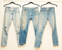 """""""We love nothing more than a good pair of vintage Levi's."""" http://www.thecoveteur.com/chloe-bartoli-marielou-bartoli/"""