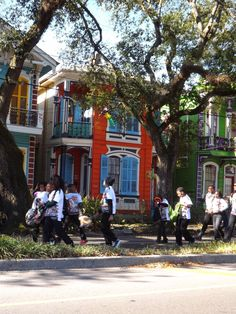 Life is a parade in New Orleans.  La Belle Esplanade Bed and Breakfast: Doing Time in New Orleans