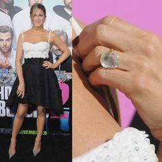 Top 5 des bagues de fiançailles de stars | Clin d'oeil Hollywood, Top 5, Druzy Ring, Fashion, Ring, Lush, Moda, La Mode, Fasion