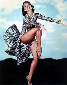 Cyd Charisse, I've never seen anyone who could dance like that, she was something.